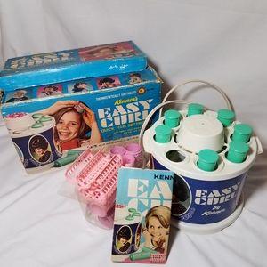 Vintage 1968 Kenner Easy Curl Hair Setting Kit